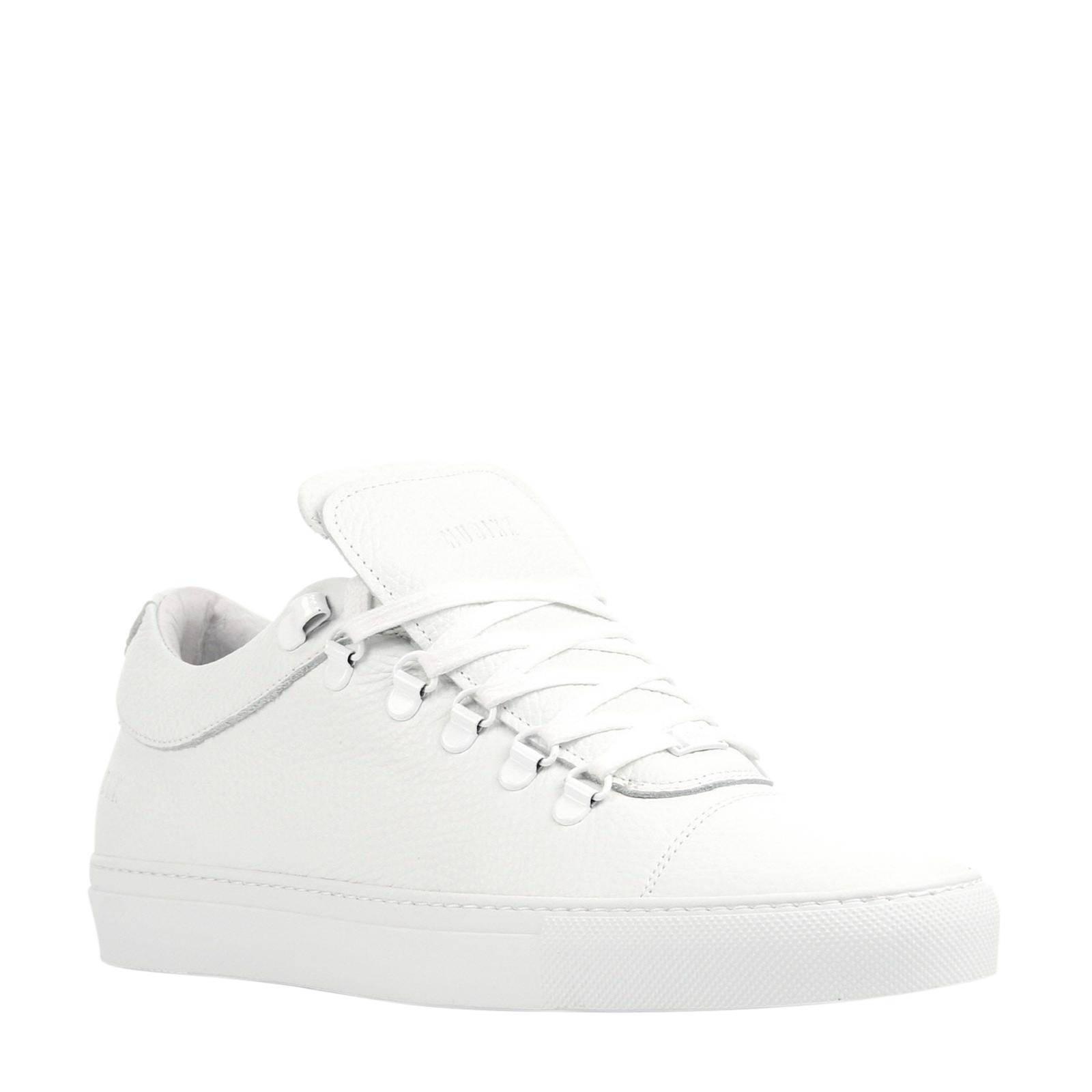 Nubikk Jhay Low Tumble leren sneakers