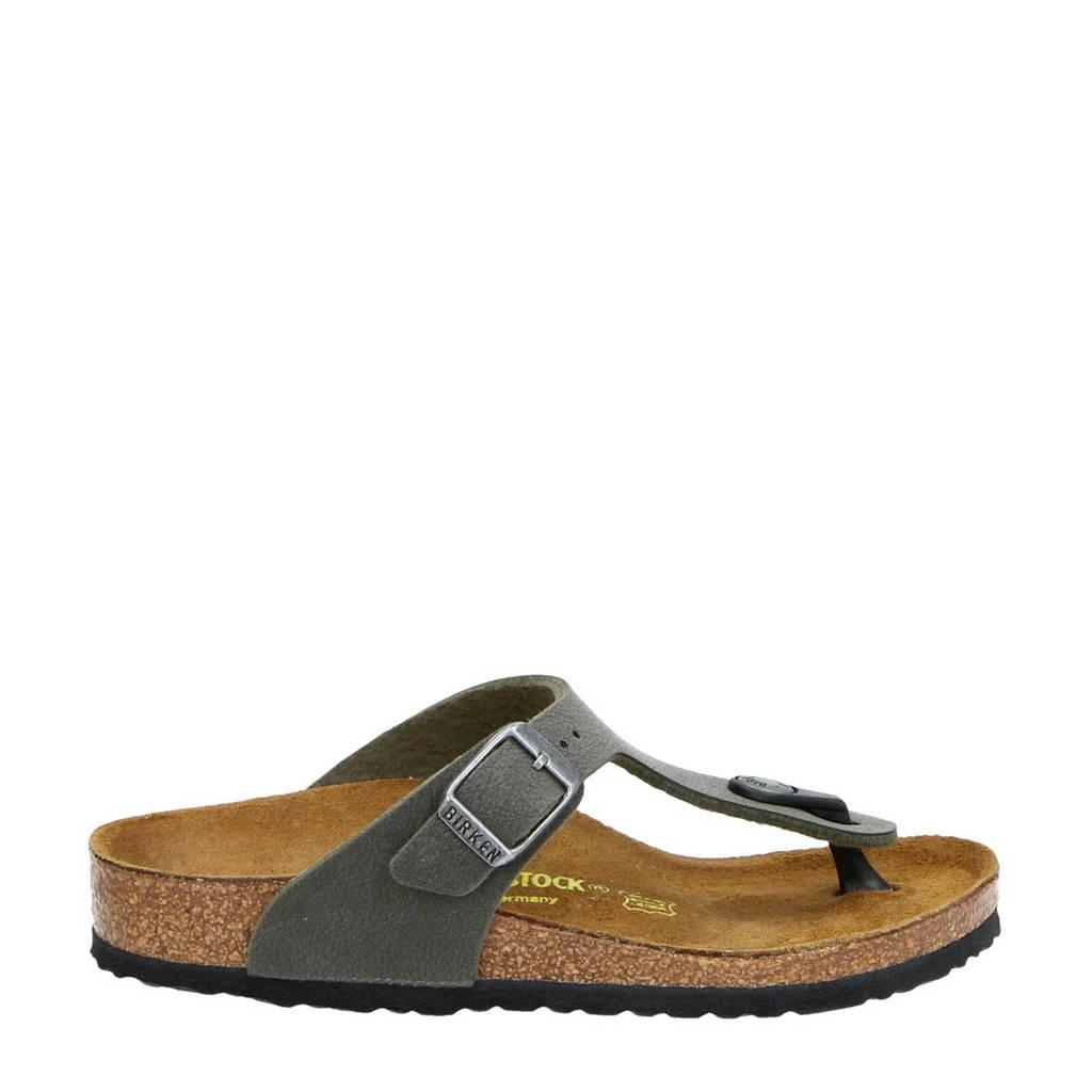 Birkenstock Gizeh  teenslippers kaki, Kaki