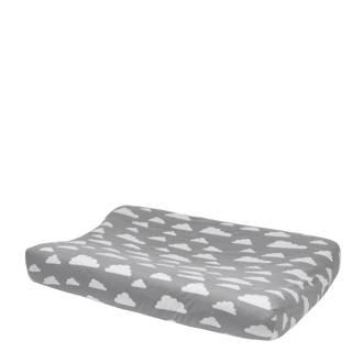 Little Clouds aankleedkussenhoes 45x70 cm grijs