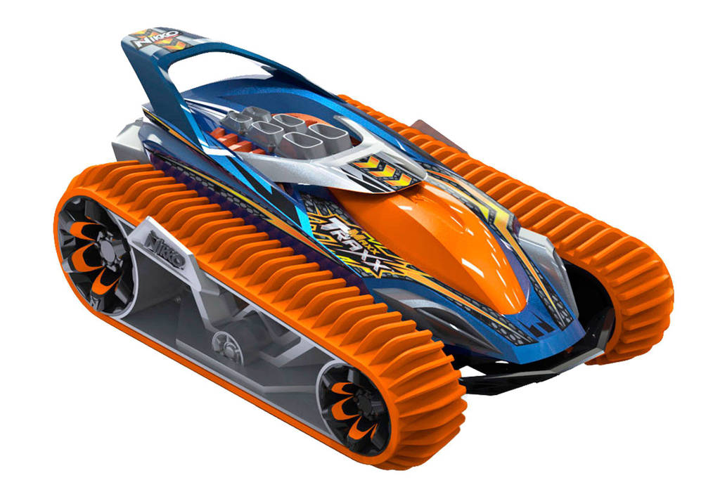 Nikko VelociTrax bestuurbare auto electric orange, Electric orange