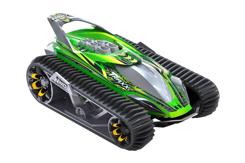 Nikko VelociTrax bestuurbare auto neon green, Neon Green
