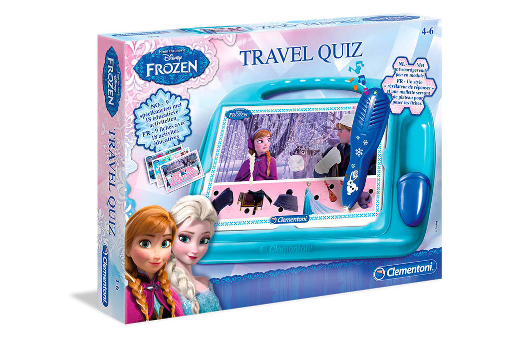 Clementoni Disney Frozen travel quiz