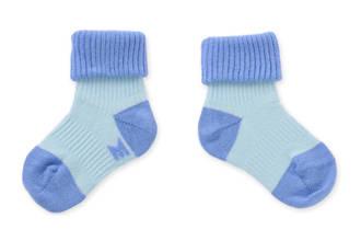 blijf-sokken blauw