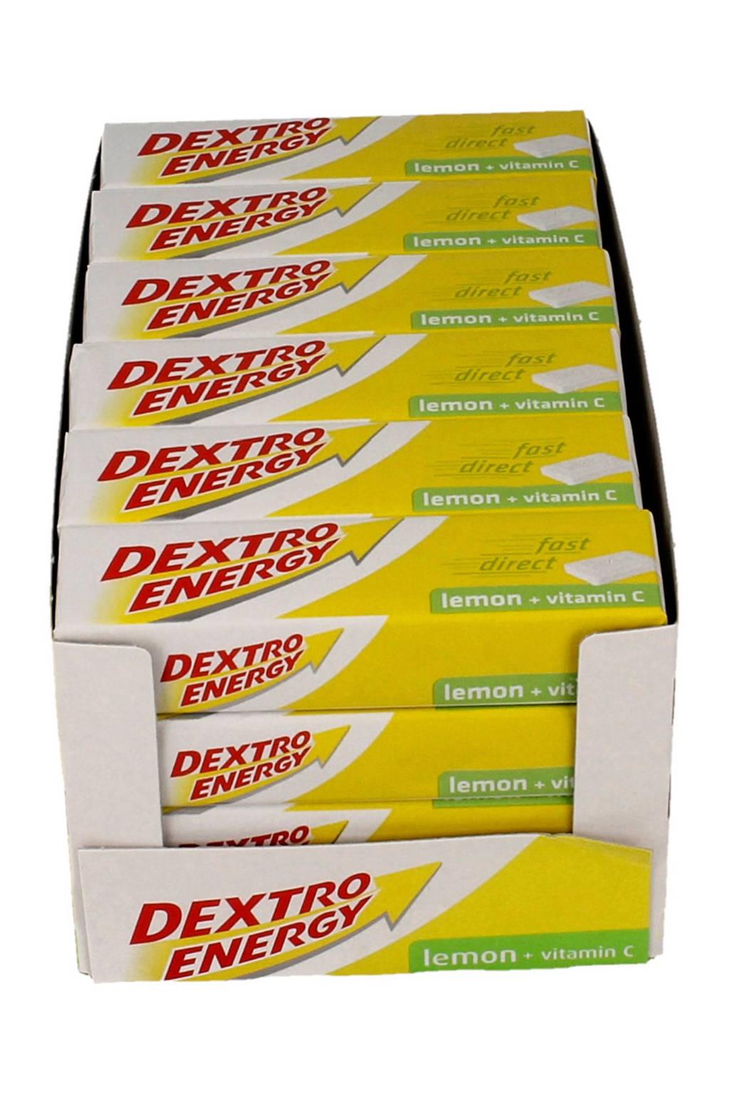 Dextro Energy Citroen met Vitamine C - multiverpakking - 24 stuks