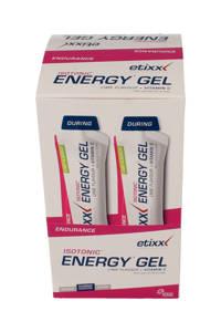Etixx Endurance Isotonic Energy Gel - multiverpakking - Lime - 12 stuks