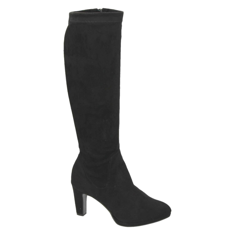 Tamaris Laarzen Zwart Laarzen en Zwart