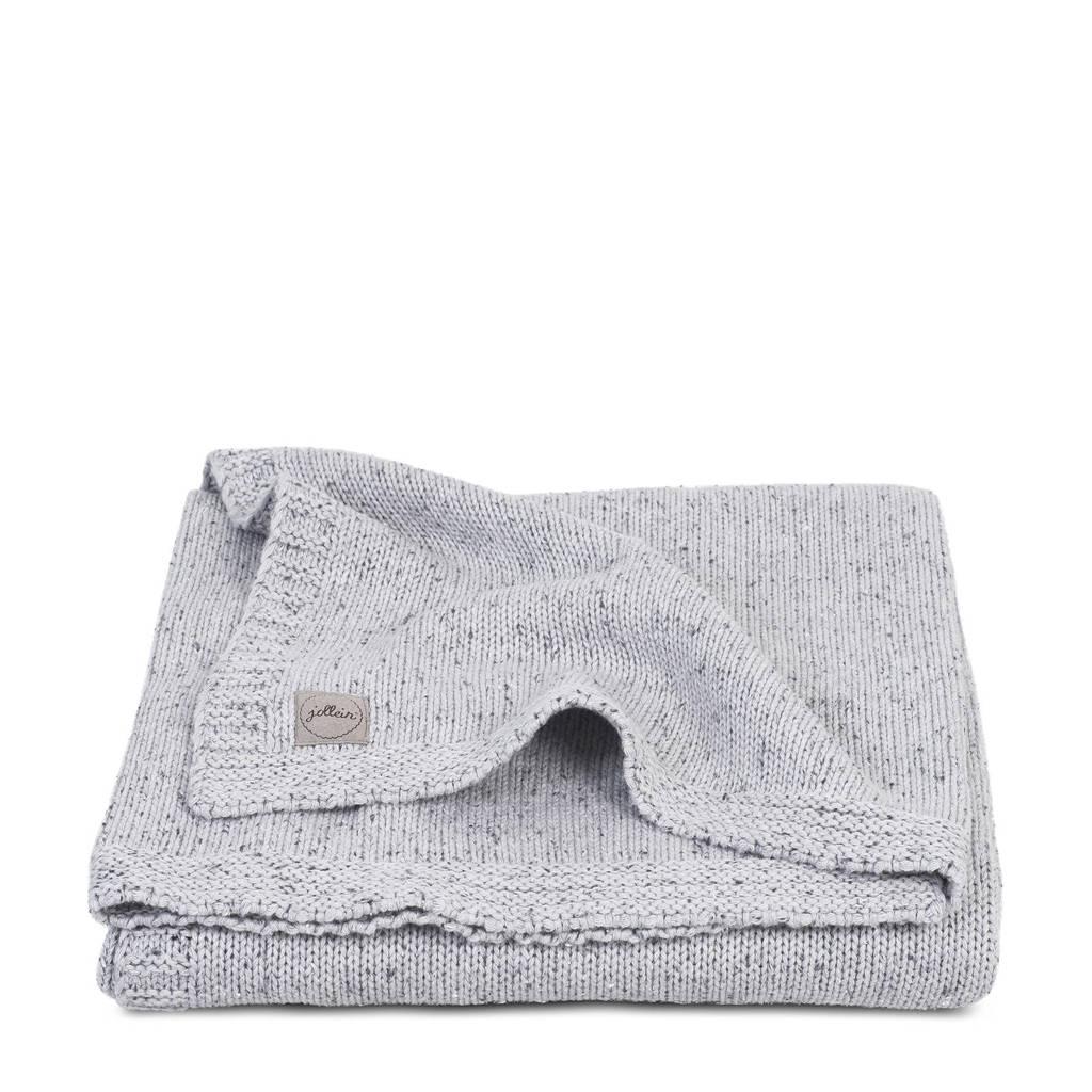 Jollein baby ledikantdeken 100x150cm Confetti Knit grey, Grey