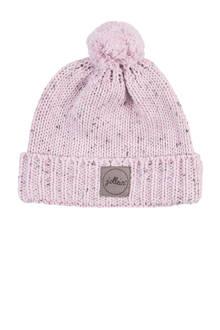 confetti knit mutsje 9-18 mnd vintage pink