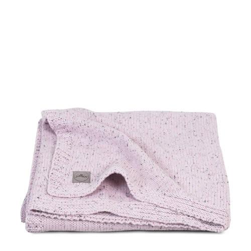 wiegdeken 100x150cm Confetti Knit vintage pink
