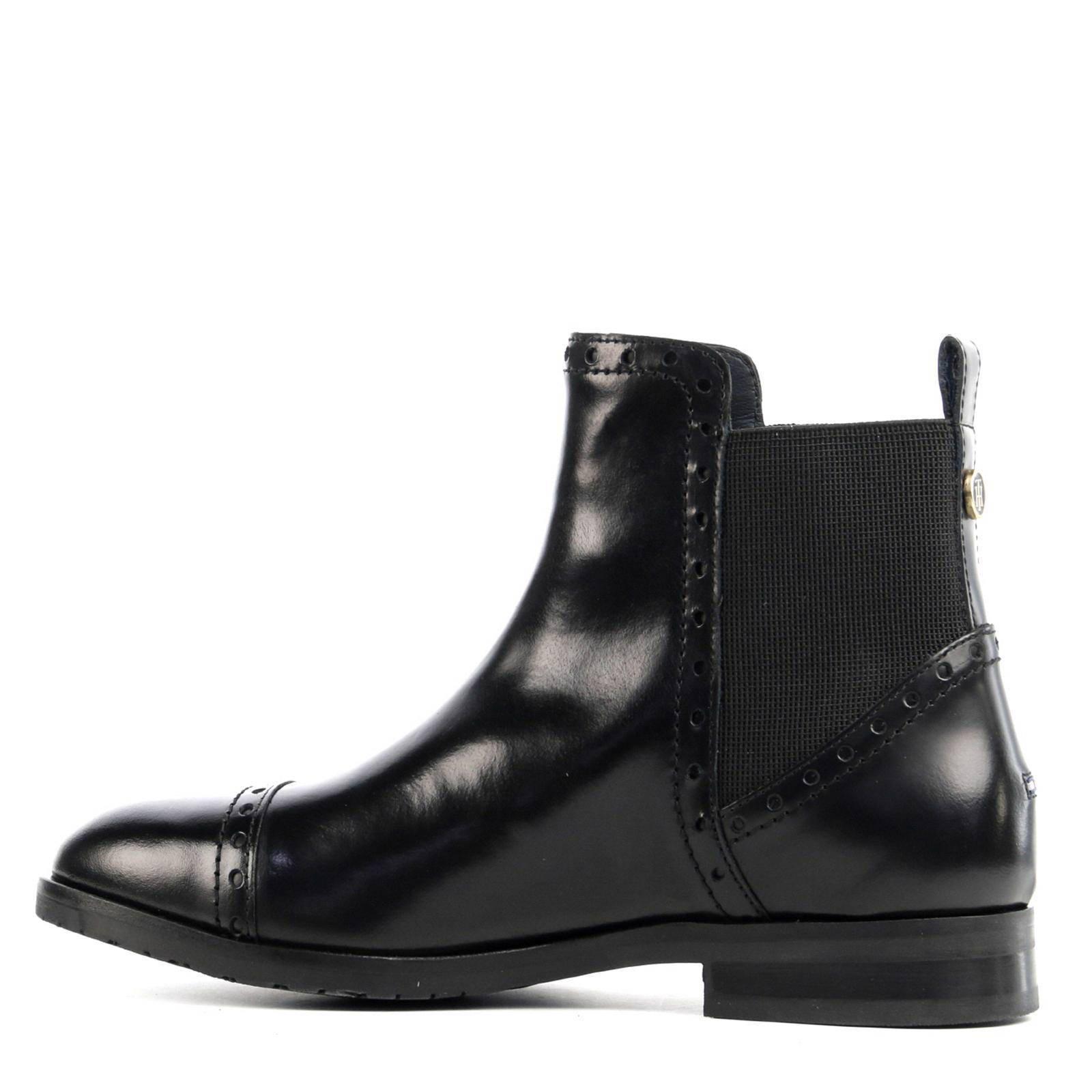 leren chelsea boots