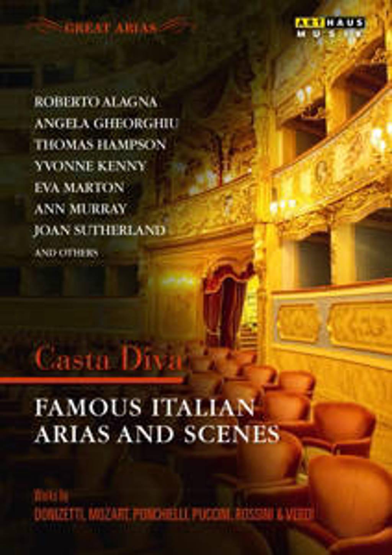 Sutherland,Kenny,Gheorghiu - Beroemde Italiaanse Aria's En Scene (DVD)