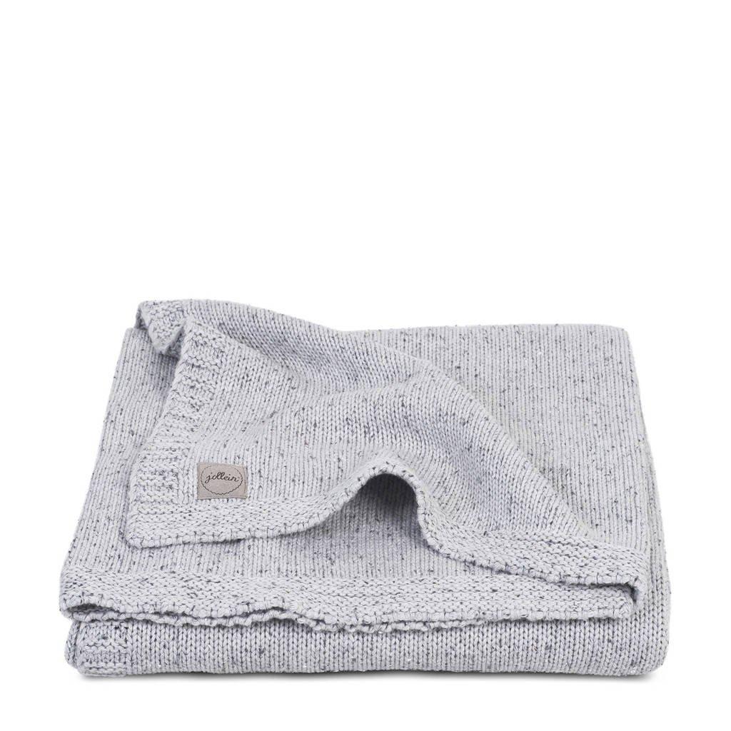 Jollein wiegdeken 75x100cm Confetti Knit grey, Grey