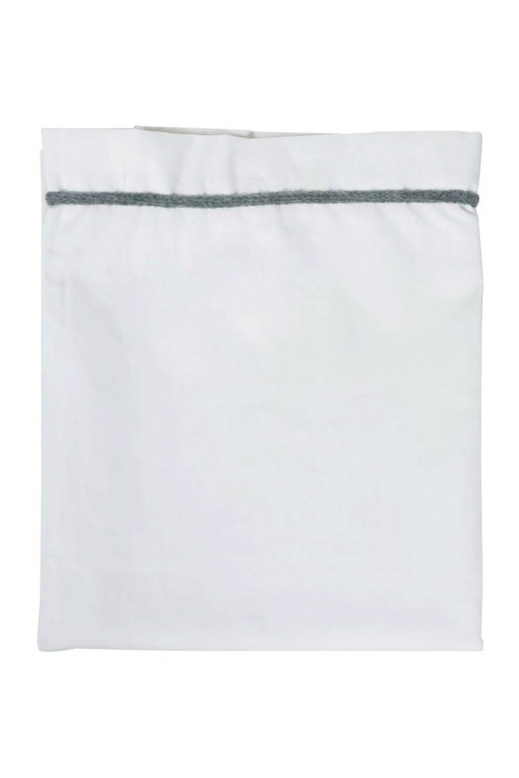 Kidsmill Knitted wieglaken antraciet - 75x100 cm, Antraciet