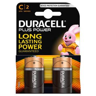 C plus power alkaline batterijen 2 pack