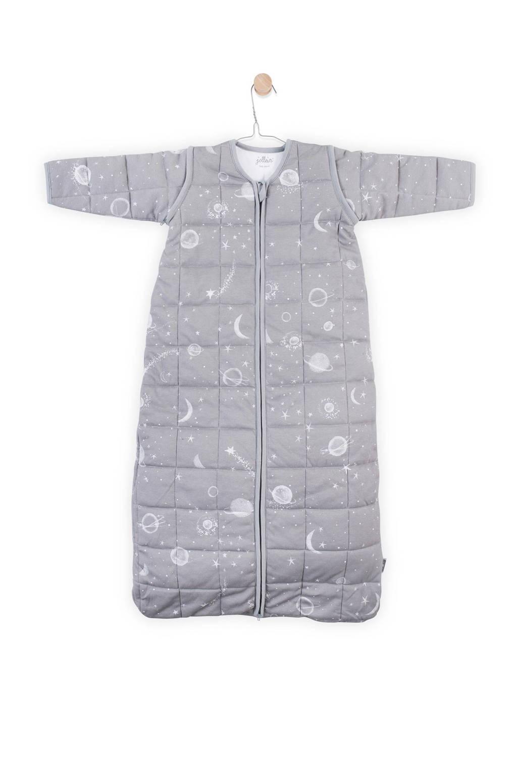 Jollein Galaxy baby slaapzak 4-seizoenen 70 cm grey, Galaxy grey
