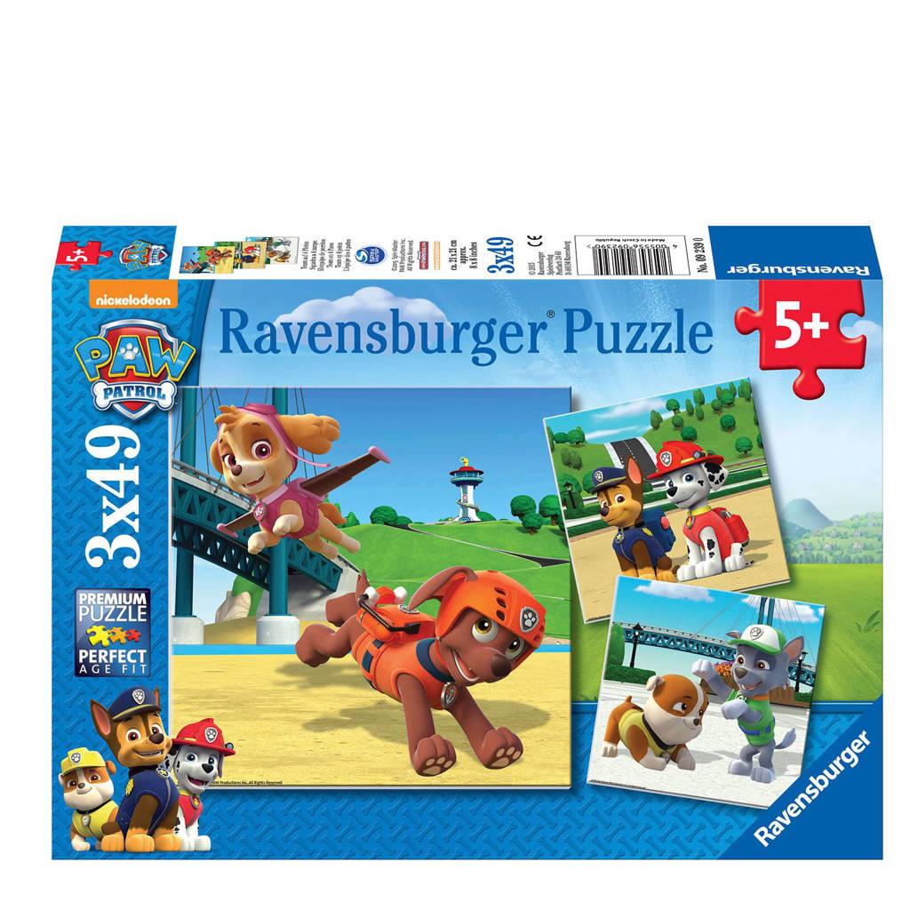 Ravensburger Paw Patrol team op poten  legpuzzel 49 stukjes