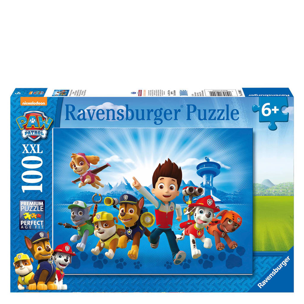 Ravensburger de ploeg van Paw Patrol  legpuzzel 100 stukjes