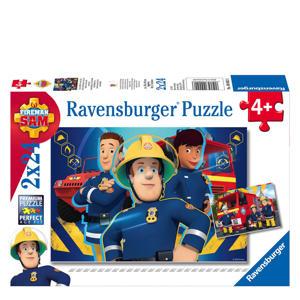 Brandweerman Sam  legpuzzel 24 stukjes