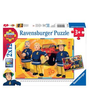 Brandweerman Sam  legpuzzel 12 stukjes