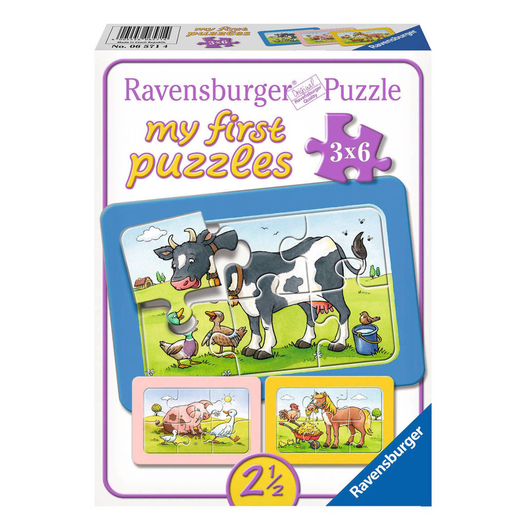 Ravensburger my firstset  legpuzzel 18 stukjes