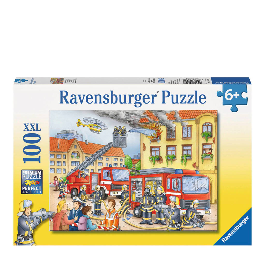Ravensburger brandweer xxl  legpuzzel 100 stukjes