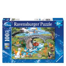 Disney dierenvrienden xxl  legpuzzel 100 stukjes