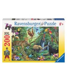 dieren in de jungle xxl  legpuzzel 200 stukjes