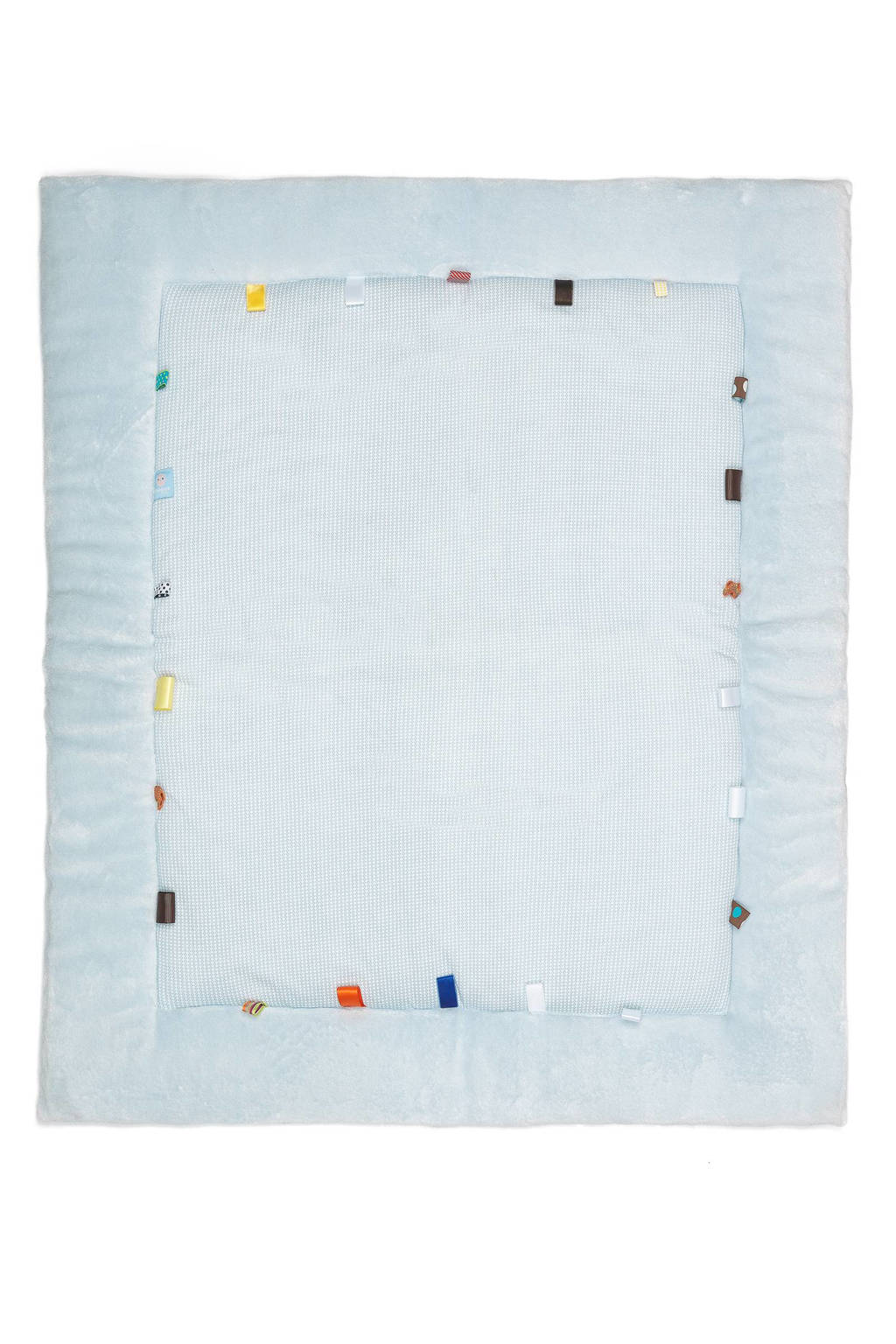 Snoozebaby Cheerful Playing boxkleed 85x105 cm fading blue, Fading Blue