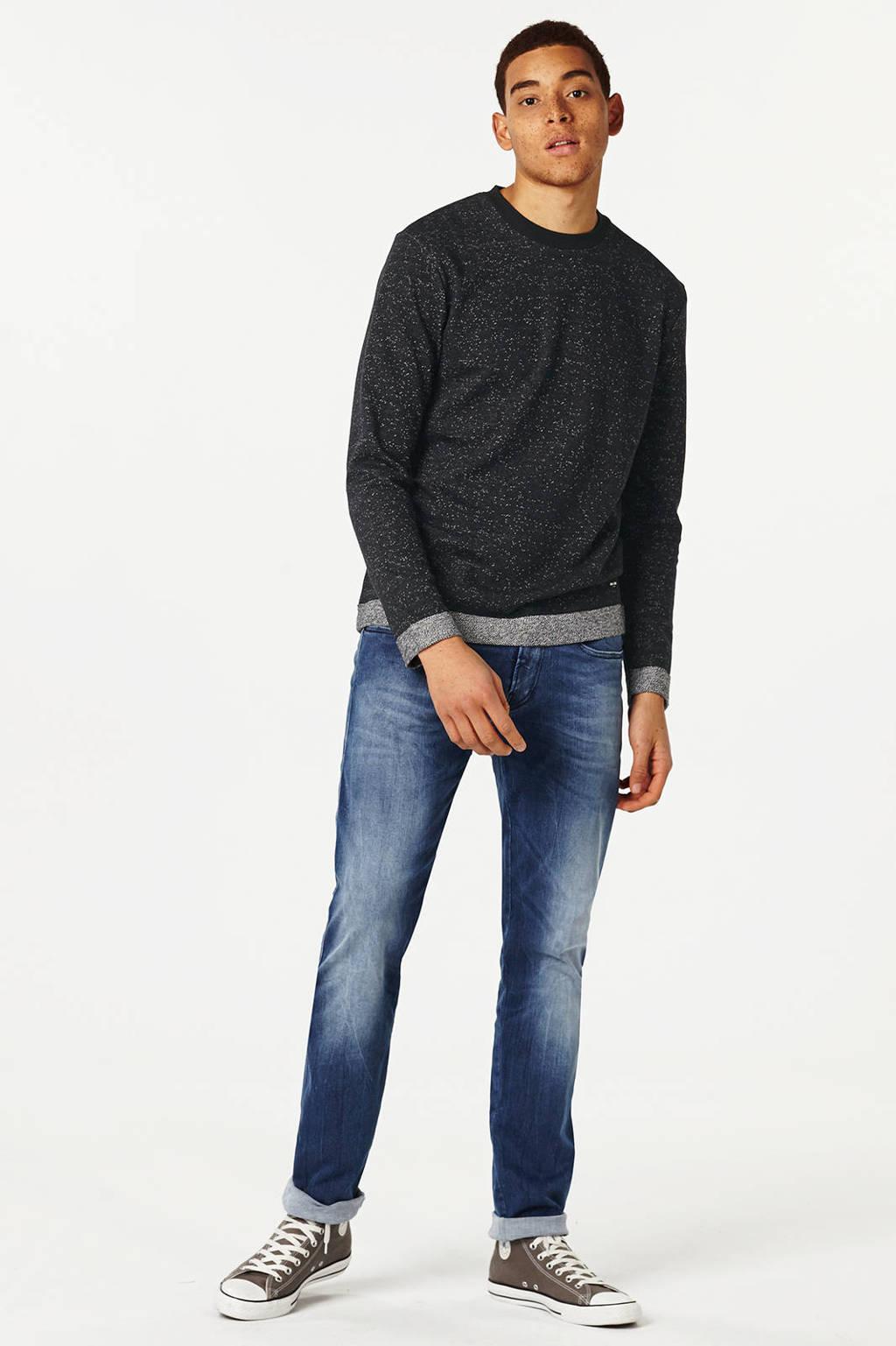 REPLAY slim fit jeans Anbass Hyperflex medium blauw, 010 Medium Blauw
