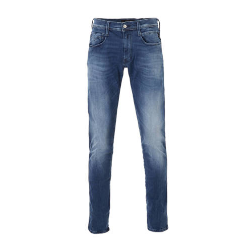 REPLAY slim fit jeans Anbass Hyperflex medium blau