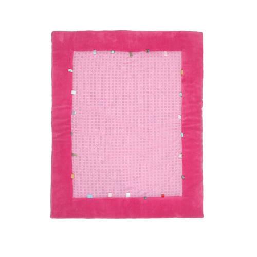 Snoozebaby boxkleed funky pink