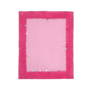 Cheerful Playing boxkleed 85x105 cm funky pink