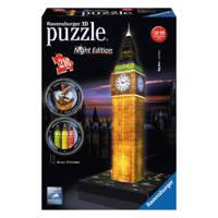 Ravensburger Big Ben nachteditie  3D puzzel 216 stukjes