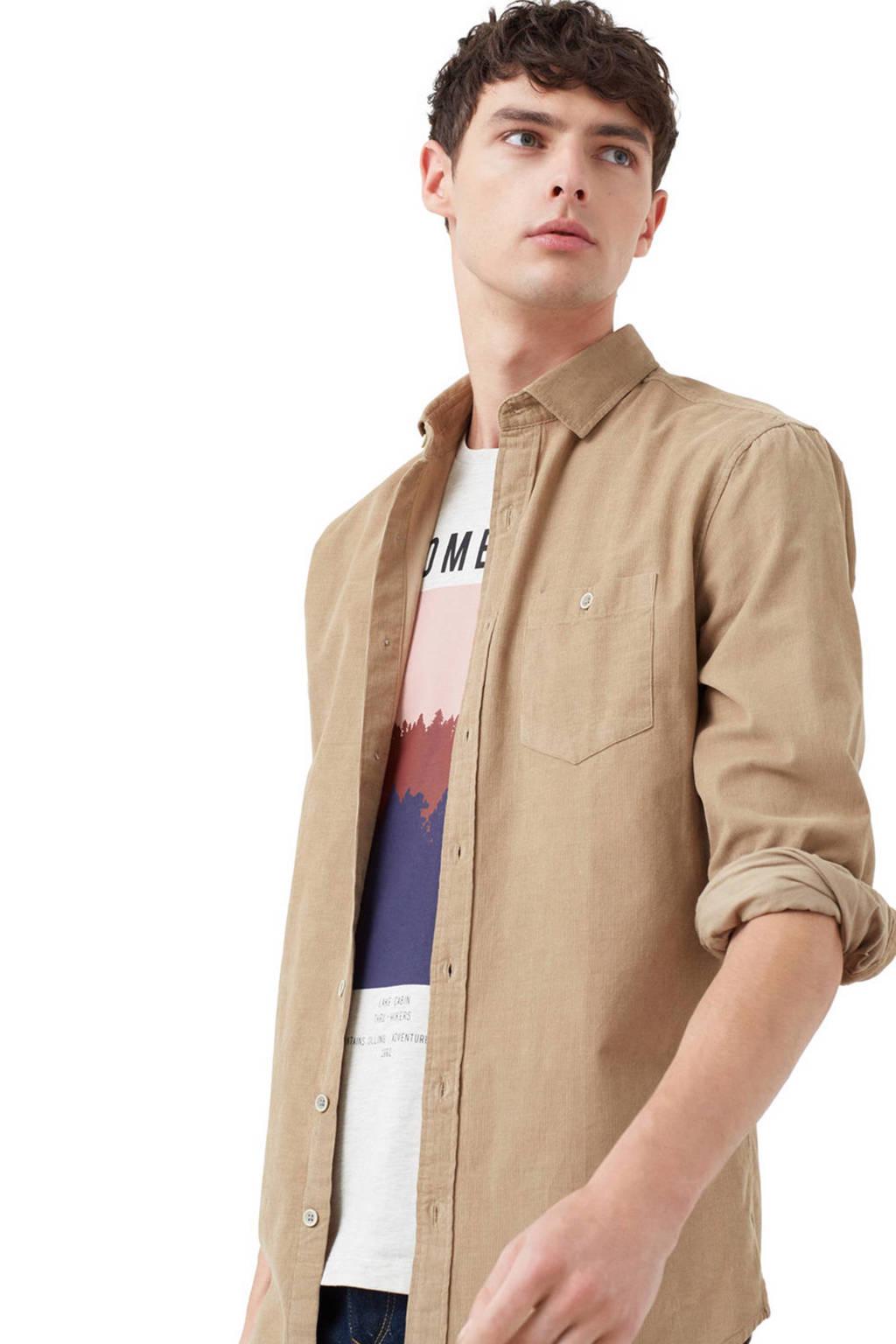 50% korting grote verkoop koop online Mango Man corduroy overhemd | wehkamp