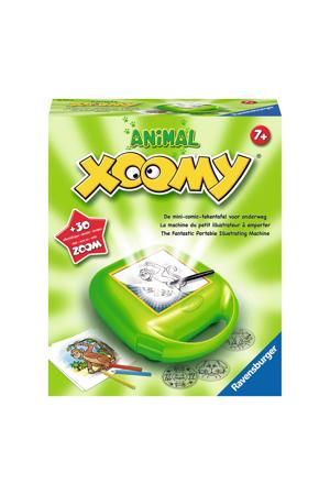 Xoomy tekenkoffer dieren