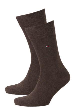 sokken - set van 2 bruin