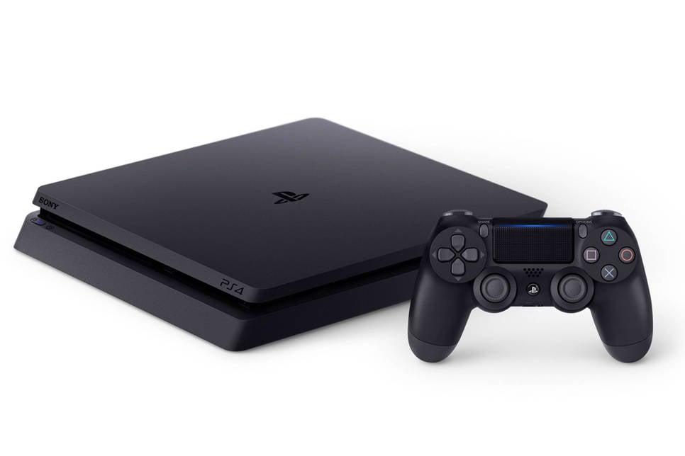 Sony PlayStation 4 Slim 500GB zwart, Zwart