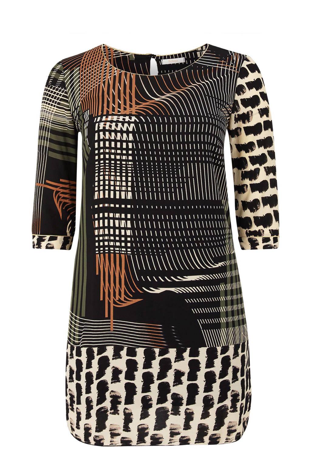 Belloya jurk, Bruin/khaki