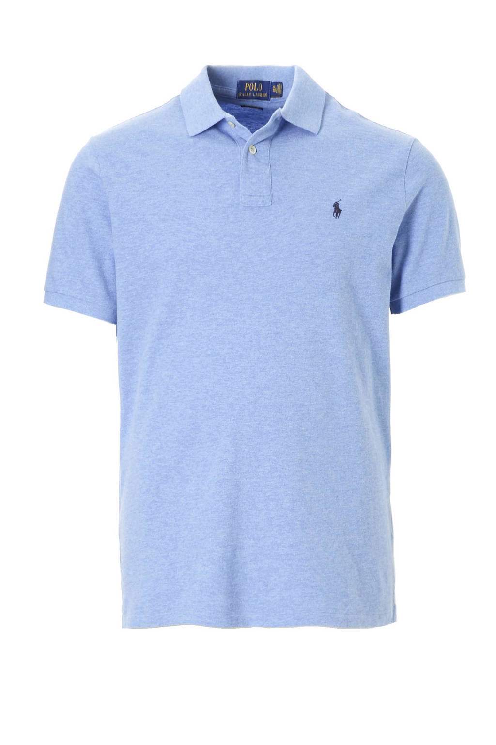 POLO Ralph Lauren slim fit polo, Lichtblauw
