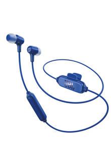 E25 in ear bluetooth koptelefoon blauw