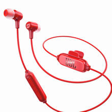 E25 in ear bluetooth koptelefoon rood