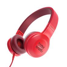 E35 on-ear koptelefoon rood