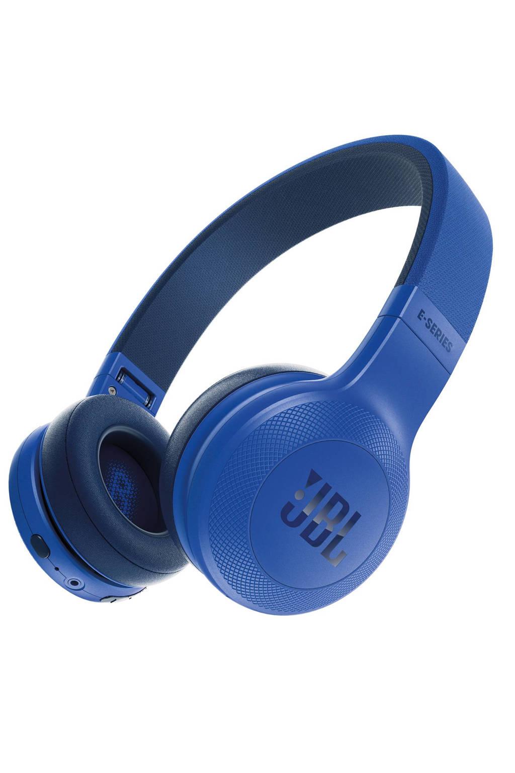 JBL E45 on-ear bluetooth koptelefoon blauw, Blauw