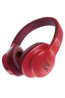 E55 over-ear bluetooth koptelefoon rood