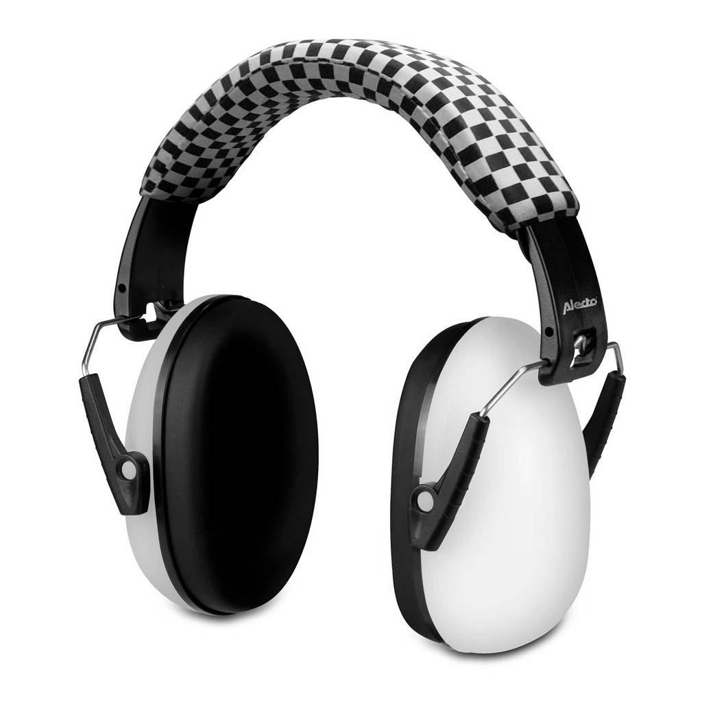 Alecto BV-71 gehoorbeschermer voor kinderen, Wit