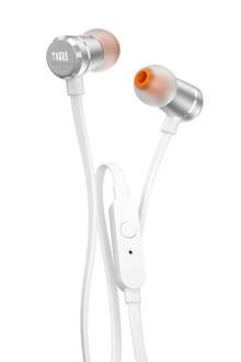 T290 in ear koptelefoon zilver
