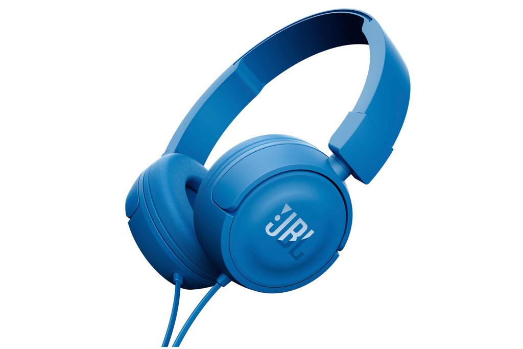 JBL T450 on-ear koptelefoon blauw, Blauw