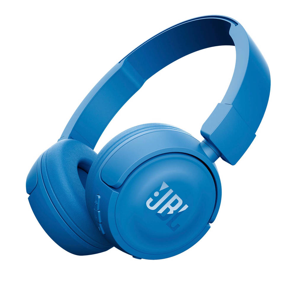 JBL T450BT on-ear bluetooth koptelefoon blauw, Blauw