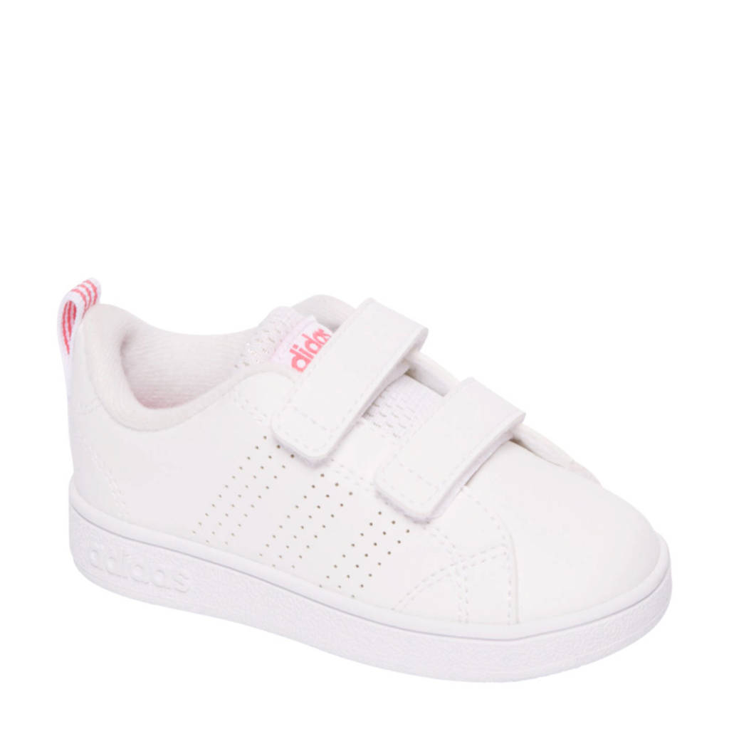 76c211173e0 vanHaren Advantage Clean sneakers, Wit/roze