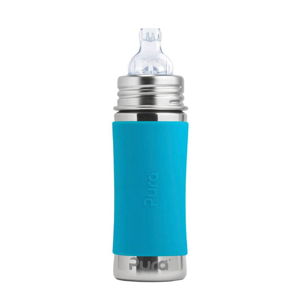 Pura Kiki tuitfles 325 ml blauw, Aqua